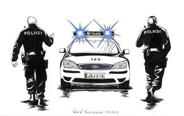 Poliisiauto Ford